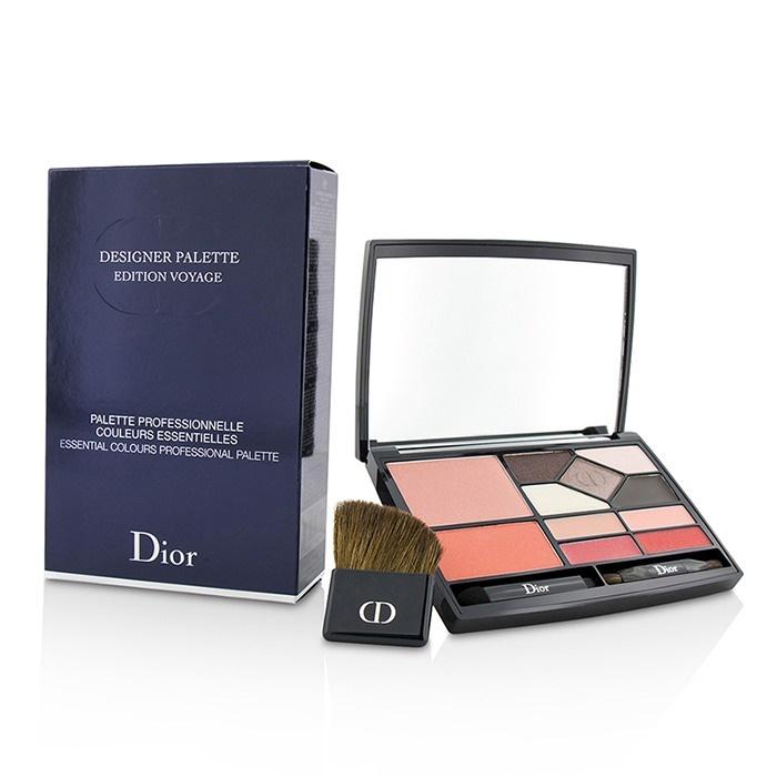 Christian Dior Designer Palette Edition Voyage (2x Blush, 5x Eyeshadow, 4x Lip Color, 3x Applicator) クリスチャンディオール 【海外直送】