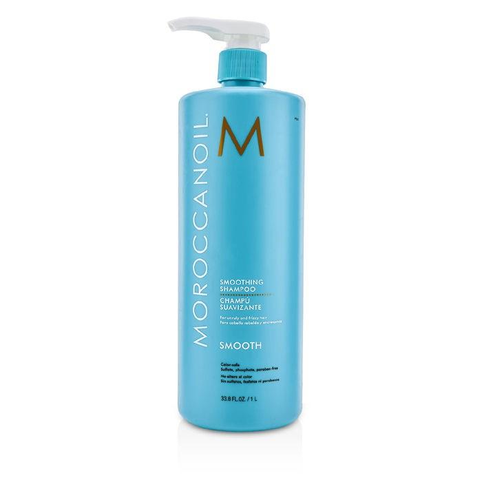MoroccanoilSmoothing Shampoo (For Unruly and Frizzy Hair)モロッカンオイルスムースニング シャンプー (くせ毛・まとまりにくい髪用) 1000ml/33.8oz【海外直送】
