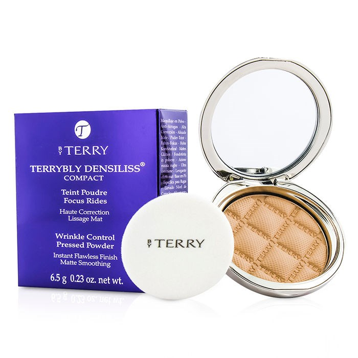 By TerryTerrybly Densiliss Compact (Wrinkle Control Pressed Powder) - # 3 Vanilla Sandバイテリーテリブリー デンシリス コンパクト 【海外直送】