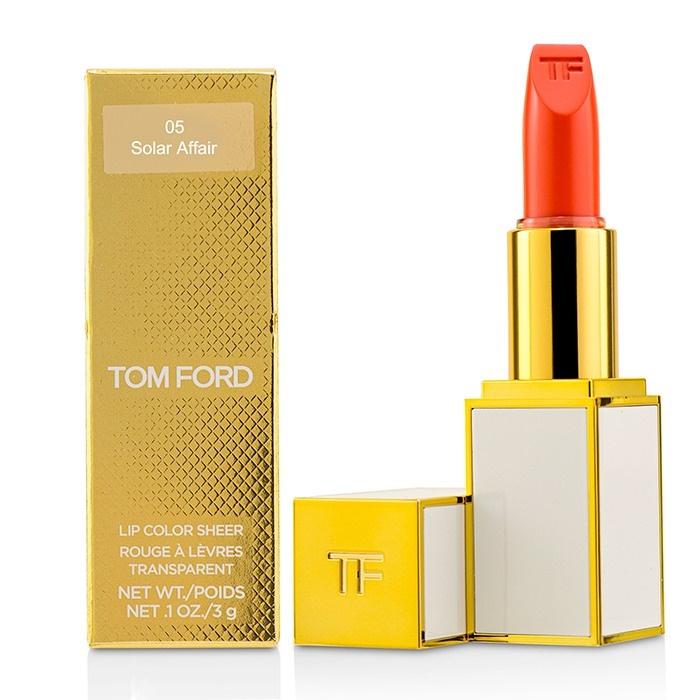 Tom Ford Ultra Rich Lip Color - # 05 Solar Affair トム フォード ウルトラ リッチ リップ カラー - # 05 Solar Affair 3g/0.1oz 【海外直送】