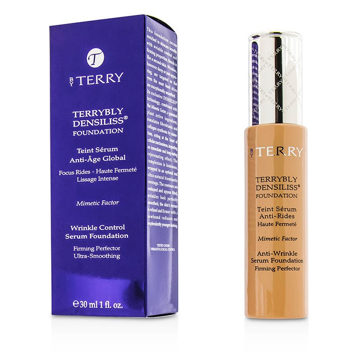 By TerryTerrybly Densiliss Wrinkle Control Serum Foundation - # 5.5 Rosy Sandバイテリーテリーブリー デンシリス リンクルコントロールセラム 【海外直送】