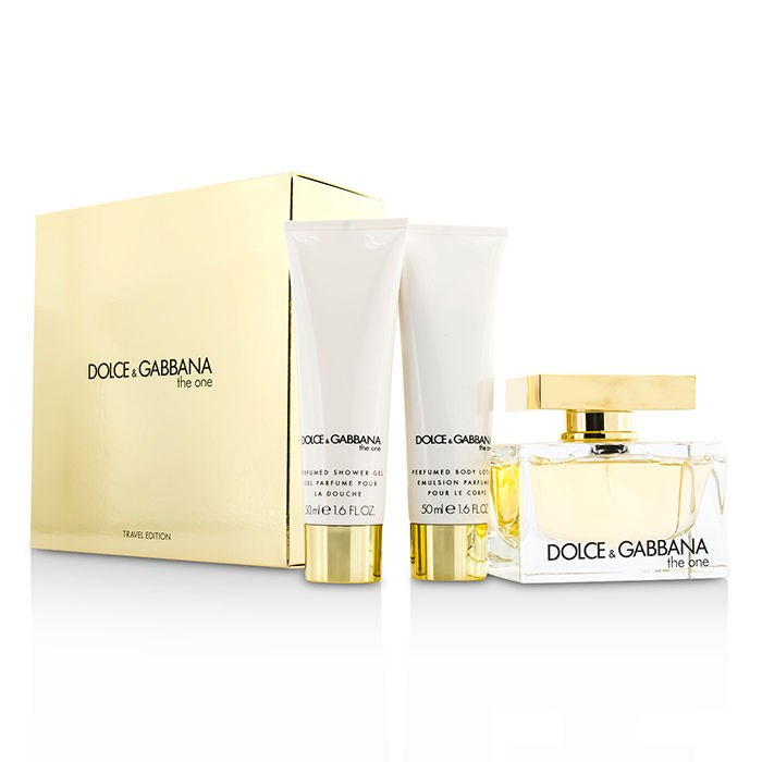 Dolce & GabbanaThe One Coffret: Eau De Parfum Spray 75ml/2.5oz + Body Lotion 50ml/1.6oz + Shower Gel 50ml/1.6ozドル【海外直送】