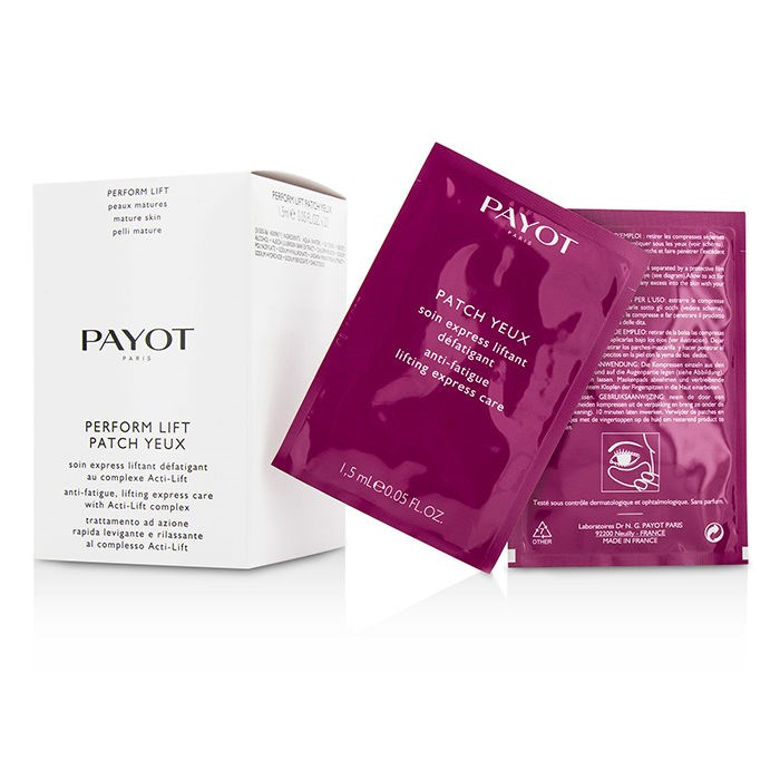 PayotPerform Lift Patch Yeux - For Mature Skins - Salon SizeパイヨPerform Lift Patch Yeux - For Mature Skins - S【海外直送】