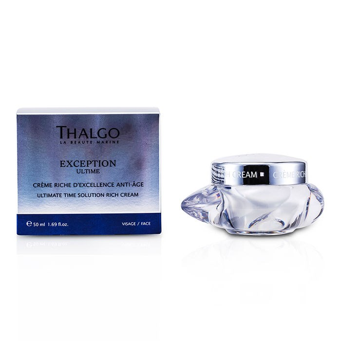 Thalgo Exception Ultime Ultimate Time Solution Rich Cream タルゴ エクセプションタルゴアルティムリッチクリーム 50ml/1.69oz 【海外直送】