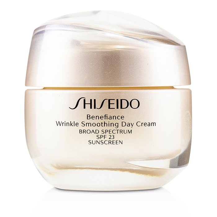 Shiseido Benefiance Wrinkle Smoothing Day Cream SPF 23 資生堂 Benefiance Wrinkle Smoothing Day Cream SPF 23 50m 【海外直送】