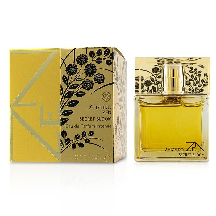 Shiseido Zen Secret Bloom Eau De Parfum Intense Spray 資生堂 Zen Secret Bloom Eau De Parfum Intense Spray 100ml 【海外直送】