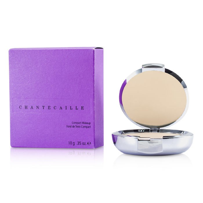 Chantecaille Compact Makeup Powder Foundation - Peach シャンテカイユ コンパクトメークアップパウダーファンデーション - ピーチ 10g/0.35oz 【海外直送】