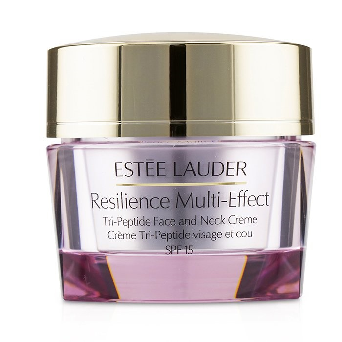 Estee Lauder Resilience Multi-Effect Tri-Peptide Face and Neck Creme SPF 15 - For Normal/ Combination Skin エスティロ 【海外直送】