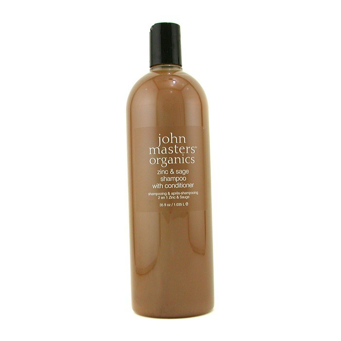 John Masters OrganicsZinc & Sage Shampoo With ConditionerジョンマスターオーガニックZ&Sコンディショニングシャンプー(ジン&セージ) 1035ml/35oz【海外直送】