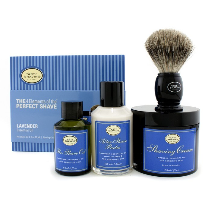 The Art Of ShavingThe 4 Elements Of The Perfect Shave - Lavender (New Packaging) (Pre Shave Oil + Shave Crm + A/S Bal【海外直送】