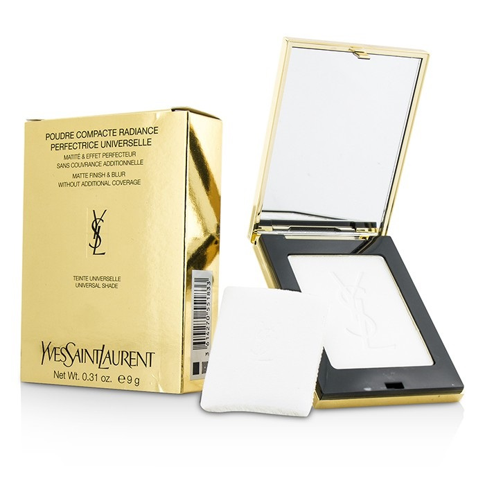 Yves Saint Laurent Poudre Compact Radiance Perfection Universelle (Matte Finish & Blur) イヴ・サンローラン ラディアントコンパク 【海外直送】