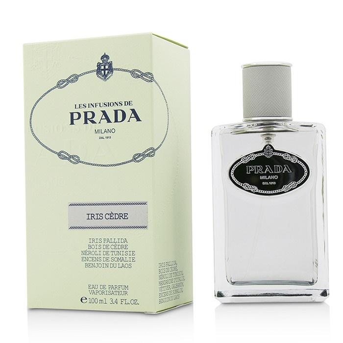 Prada Les Infusions Iris Cedre Eau De Parfum Spray プラダ Les Infusions Iris Cedre Eau De Parfum Spray 100ml/3. 【海外直送】
