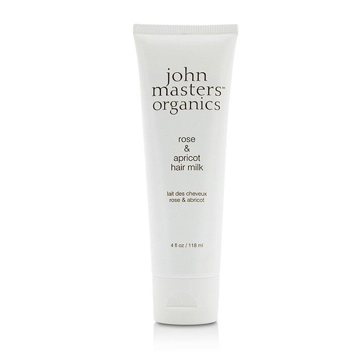 John Masters OrganicsRose & Apricot Hair MilkジョンマスターオーガニックRose & Apricot Hair Milk 118ml/4oz【楽天海外直送】