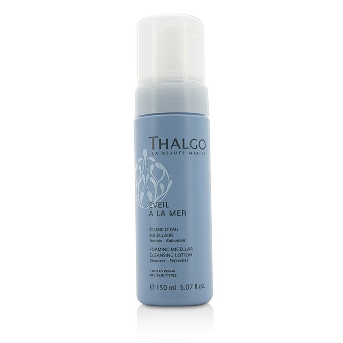 Thalgo Eveil A La Mer Foaming Micellar Cleansing Lotion - For All Skin Types タルゴ エヴェイル ア ラ マー フォーミング ミセラー クレ 【海外直送】