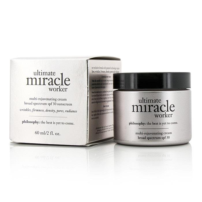 Philosophy Ultimate Miracle Worker Multi-Rejuvenating Cream SPF 30 フィロソフィー Ultimate Miracle Worker Multi-Rej 【海外直送】