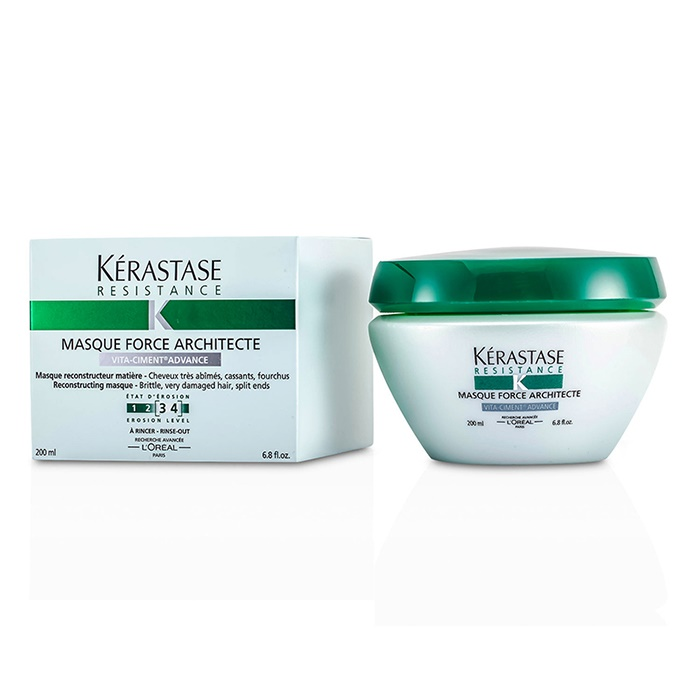 KerastaseResistance Force Architecte Strengthening Masque (For Brittle Very Damaged Hair Split Ends)ケラスターゼR【海外直送】