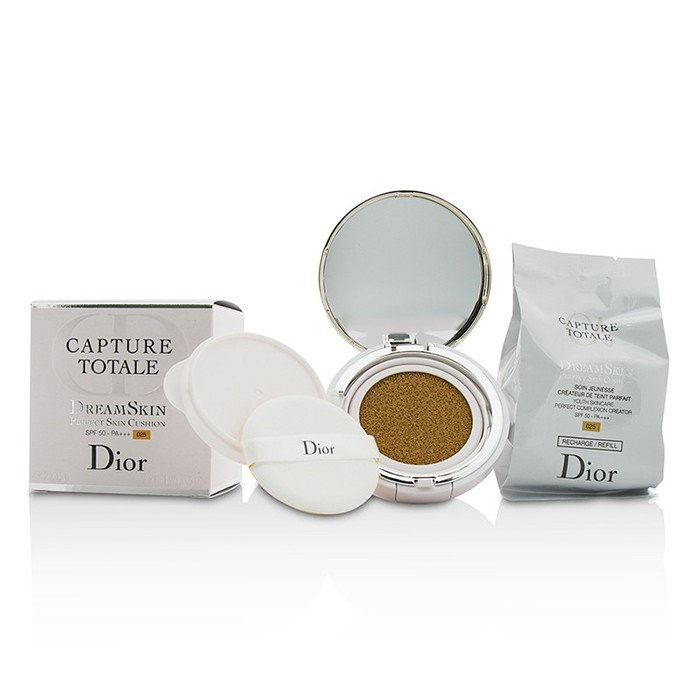 Christian DiorCapture Totale Dreamskin Perfect Skin Cushion SPF 50 With Extra Refill - # 025クリスチャンディオールCaptur【海外直送】