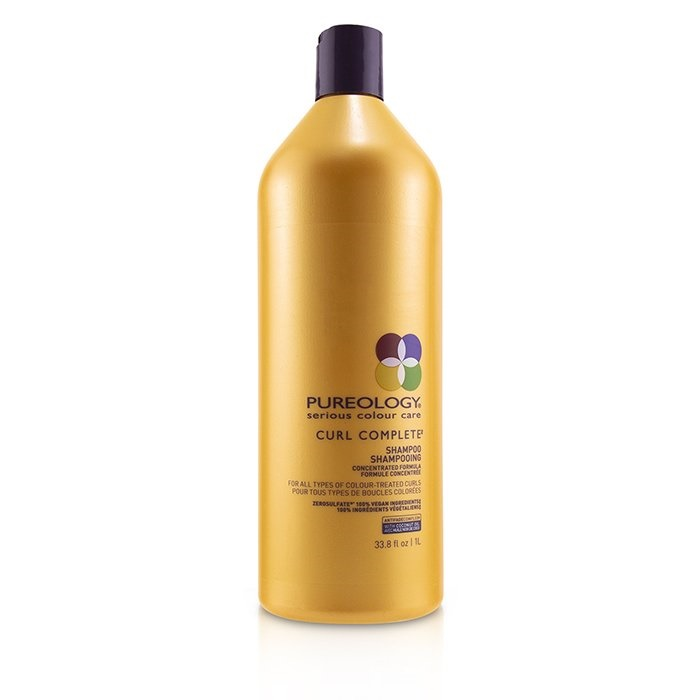 Pureology Curl Complete Shampoo (For All Types of Colour-Treated Curls) ピュアロジー カール コンプリート シャンプー (For オール タイプ 【海外直送】