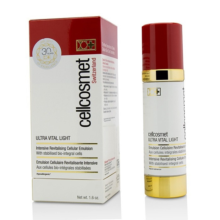 Cellcosmet & Cellmen Cellcosmet Ultra Vital Light Intensive Revitalising Cellular Emulsion セルコスメ & セルメン セルコス 【海外直送】