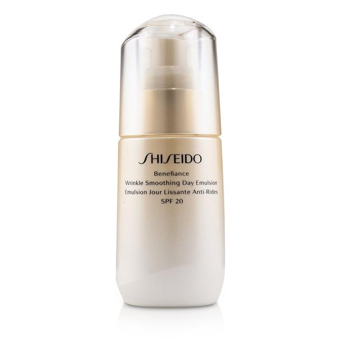 Shiseido Benefiance Wrinkle Smoothing Day Emulsion SPF 20 資生堂 ベネフィアンス リンクル スムージング デイ エムルション SPF 20 75ml/2.5o 【海外直送】