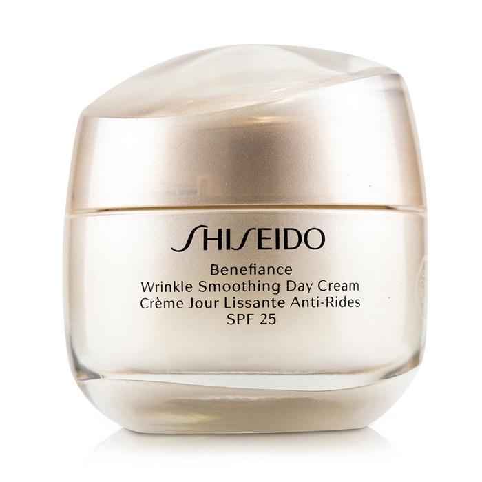 Shiseido Benefiance Wrinkle Smoothing Day Cream SPF 25 資生堂 ベネフィアンス リンクル スムージング デイ クリーム SPF 25 50ml/1.8oz 【海外直送】