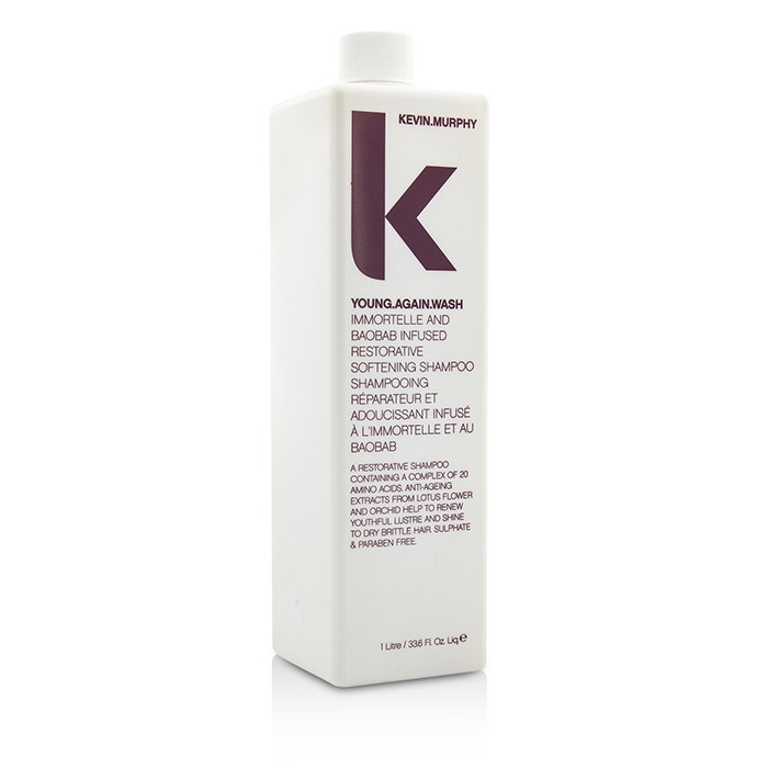Kevin.MurphyYoung.Again.Wash (Immortelle and Baobab Infused Restorative Softening Shampoo - To Dry Brittle Hair)ケ【海外直送】