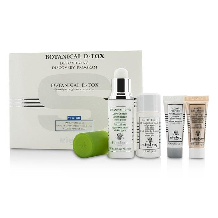 SisleyBotanical D-Tox Detoxifying Discovery Program: Botanical D-Tox 30ml + Make-Up Remover 30ml + Mask 10ml + Pore M【海外直送】