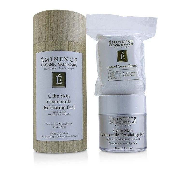 EminenceCalm Ex【海外直送】 Skin Chamomile Exfoliating Peel (with 35 Peel Dual-Textured Dual-Textured Cotton Rounds)エミネンスCalm Skin Chamomile Ex【海外直送】, みづの屋:683209cf --- officewill.xsrv.jp