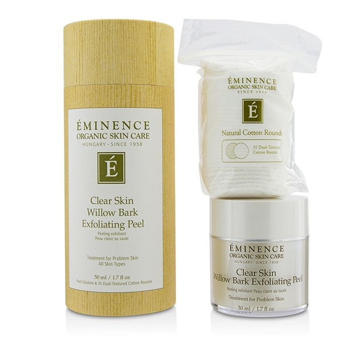 EminenceClear Skin Willow Bark Exfoliating Exfoliating Peel Skin (with Bark 35 Dual-Textured Cotton Rounds)エミネンスClear Skin Willow B【海外直送】, ミスターシーバー:8cd9b764 --- officewill.xsrv.jp
