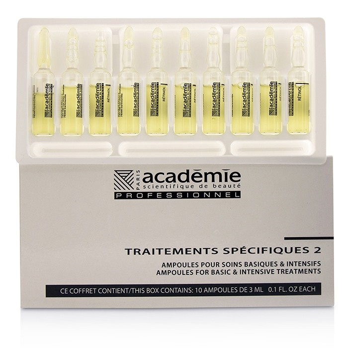 AcademieSpecific Treatments Retinol 2 Ampoules Retinol Retinol - S【海外直送】 Salon ProductアカデミーSpecific Treatments 2 Ampoules Retinol - S【海外直送】, BATON:e8fae9fd --- officewill.xsrv.jp