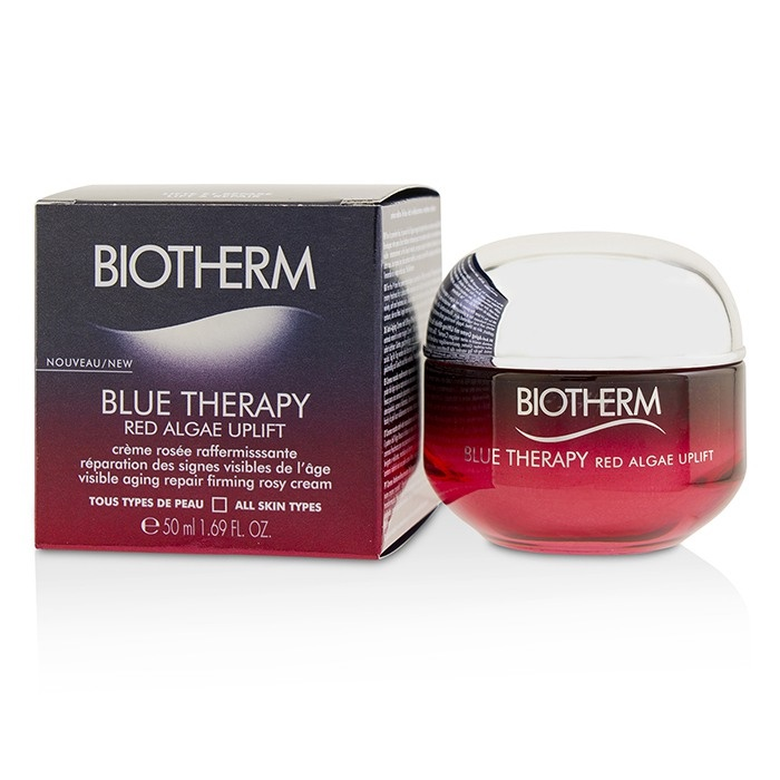 BiothermBlue Therapy Red Red Algae Uplift Visible Aging Repair Firming Firming Aging Rosy Cream - All Skin TypesビオテルムBlue Thera【海外直送】, 隼人町:3a42da53 --- officewill.xsrv.jp