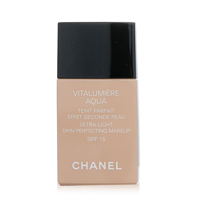 ChanelVitalumiere Aqua Ultra Light Skin Perfecting Make Up SPF15 - # 10 Beigeシャネルヴィタルミエール アクア SPF 15 - # 10 B【海外直送】