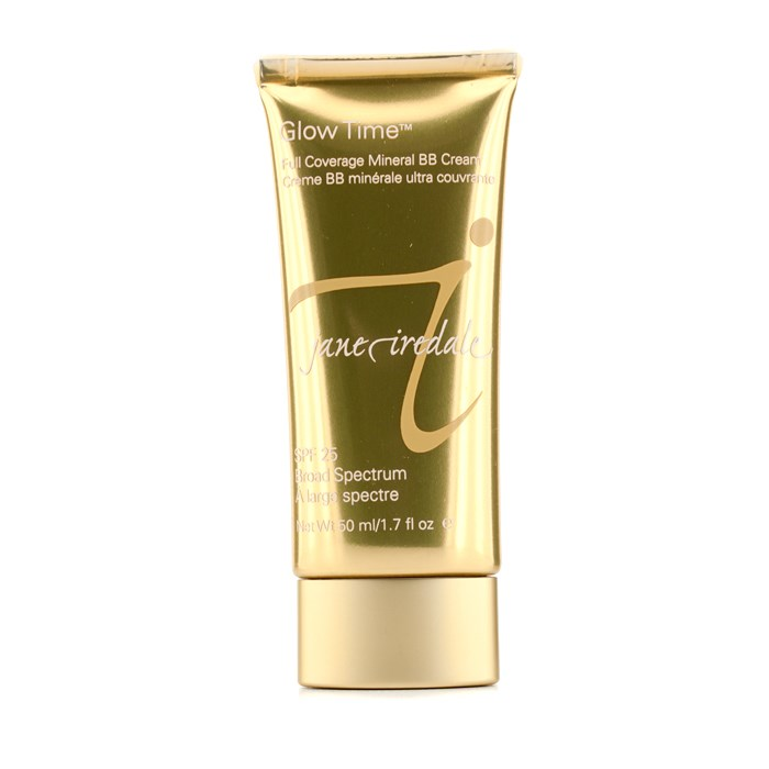 Jane Iredale Glow Time Full Coverage Mineral BB Cream SPF 25 - BB3 ジェーンアイルデール グロータイム ミネラルBBクリーム SPF25 PA++- 【海外直送】