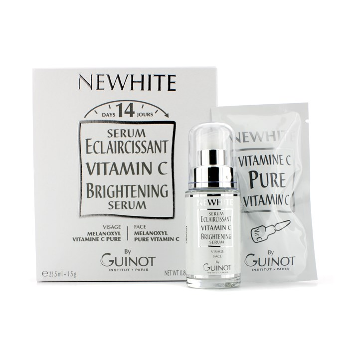 GuinotNewhite Vitamin C GuinotNewhite Brightening C Serum Vitamin (Brightening Serum 23.5ml/0.8oz + Pure Vitamin C 1.5g/0.05oz)ギノーニュー【海外直送】, フローラルライフ 花と雑貨ギフト:74044ced --- officewill.xsrv.jp
