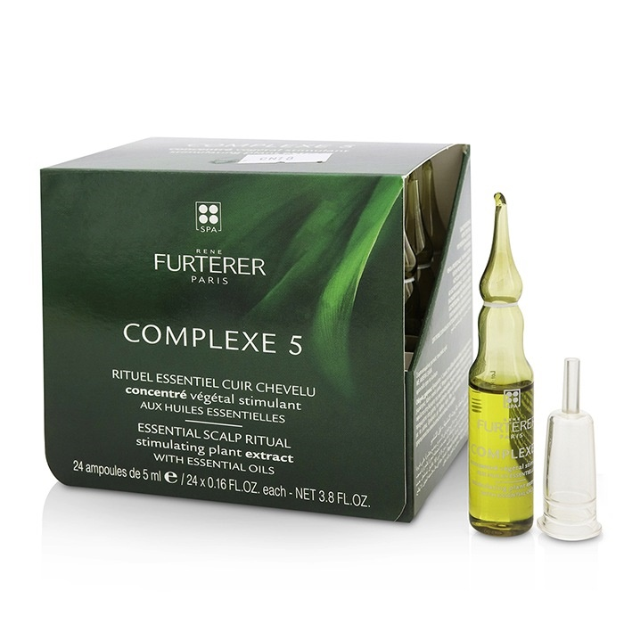 Rene Furterer Complexe 5 Essential Scalp Ritual Stimulating Plant Extract with Essential Oils ルネ フルトレール Comp 【海外直送】
