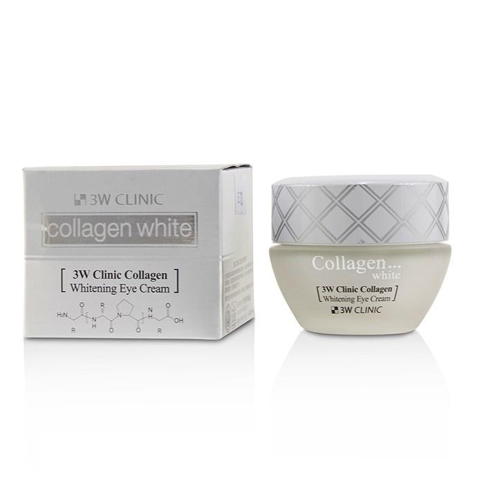 【月間優良ショップ受賞】 3W Clinic Collagen White Whitening Eye Cream 3Wクリニック コラーゲン ホワイト ホワイトニング アイ クリーム 35ml/1.16oz 送料無料 【海外直送】