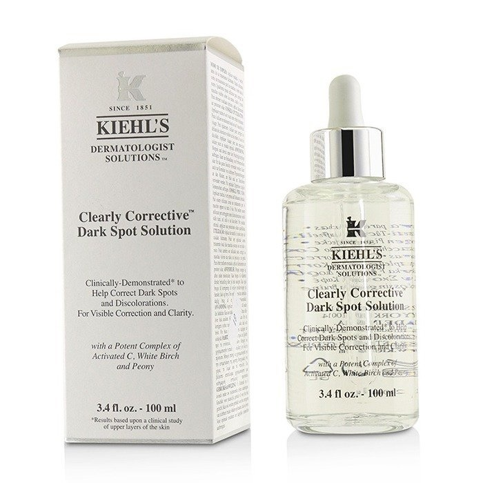 Kiehl'sClearly Corrective Dark Spot SolutionキールズClearly Corrective Dark Spot Solution 100ml/3.3oz【海外直送】