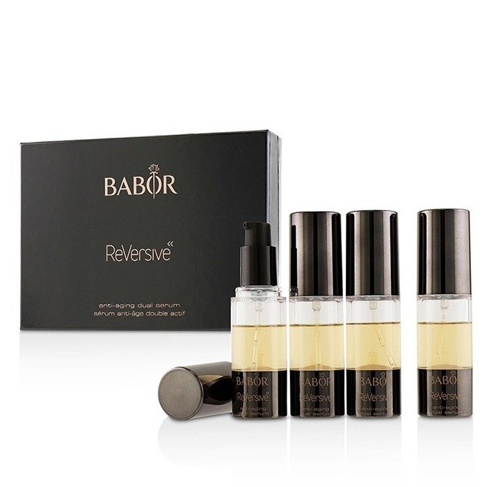 Babor Reversive Anti-Aging Dual Serum バボール Reversive Anti-Aging Dual Serum 4x10ml/0.3oz 【海外直送】