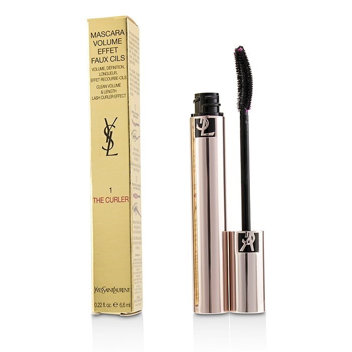 Yves Saint LaurentVolume Effet Faux Cils The Curler Mascara - # 01 Rebellious BlackイヴサンローランVolume Effet Faux 【海外直送】