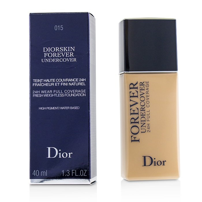 Christian Dior Diorskin Forever Undercover 24H Wear Full Coverage Water Based Foundation - # 015 Tender Beige クリ 【海外直送】
