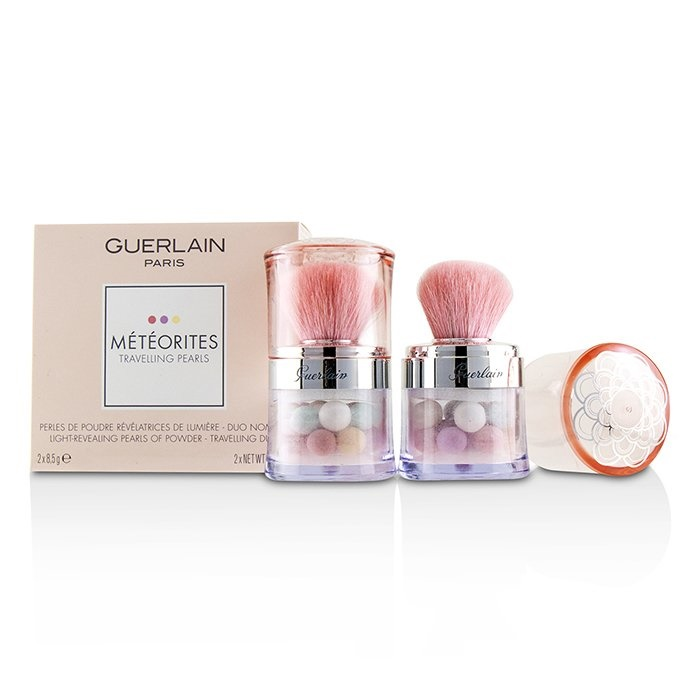 GuerlainMeteorites Travelling Pearls Light Revealing Pearls Of Powder Duo Set - # 2 LightゲランMeteorites Travel【海外直送】