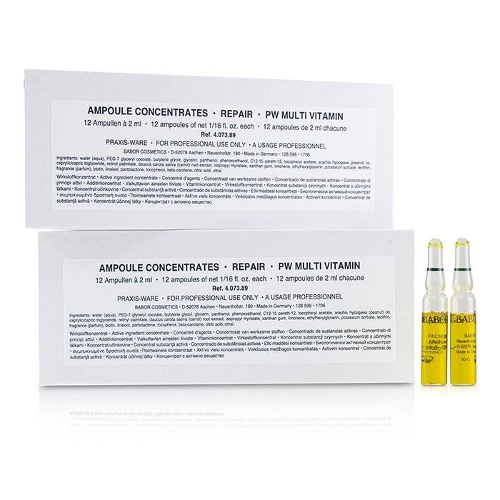 BaborAmpoule Concentrates Repair Repair (Salon Multi Vitamin (Salon Size)バボールAmpoule BaborAmpoule Concentrates Repair Multi Vitamin (Sal【海外直送】, カリフォルニアカスタム:2de00ab1 --- officewill.xsrv.jp