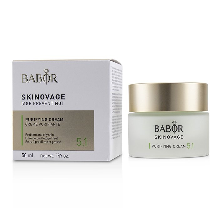 BaborSkinovage [Age Preventing] Purifying Cream 5.1 - For Problem & Oily SkinバボールSkinovage [Age Preventing] P【海外直送】
