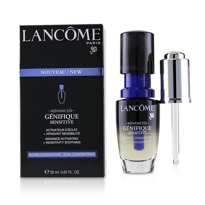 LancomeAdvanced Genifique Sensitive Radiance Activating + Sensitivity Soothing Dual ConcentrateランコムAdvanced G【海外直送】