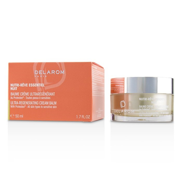 DELAROMNutri-Reve Essentiel Nuit Ultra-Regenerating Cream Balm - For All Skin Types to Sensitive SkinデラロームNut【海外直送】
