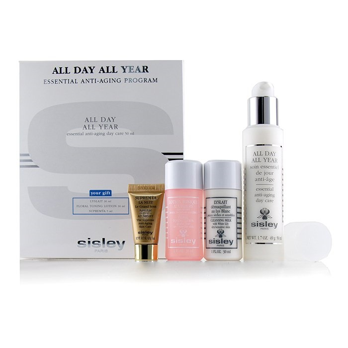 SisleyAll Day All 30ml Year Essential Anti-Aging Program: Loti【海外直送】 All 50ml Day All Year 50ml + Cleansing Milk 30ml + Floral Toning Loti【海外直送】, 建材OFF:2923ea14 --- officewill.xsrv.jp