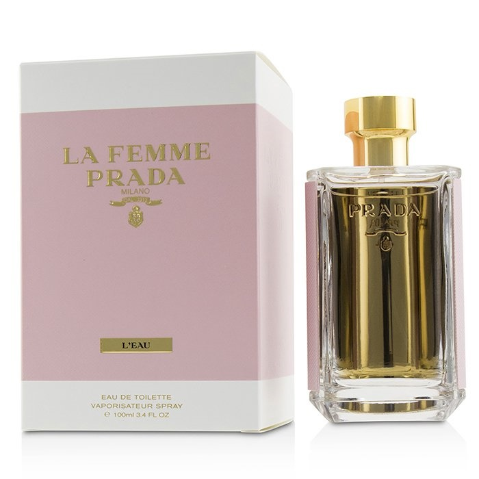 PradaLa Femme L'Eau Eau De Toilette SprayプラダLa Femme L'Eau Eau De Toilette Spray 100ml/3.4oz【海外直送】