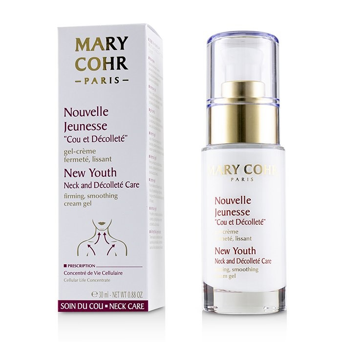 Mary CohrNew Youth Neck & Decollete Care Firming Smoothing Cream GelマリコールNew Youth Neck & Decollete Care Fir【海外直送】