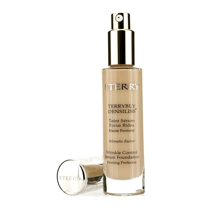 By TerryTerrybly Densiliss Wrinkle Control Serum Foundation - # 4 Natural Beigeバイテリーリブリー デンシリス リンクル コントロール セラ【海外直送】