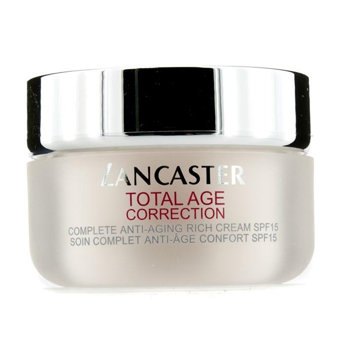 LancasterTotal Age Correction Cream Complete SPF15 Anti-Aging Rich Day Cream コレクション SPF15ランカスタートータル エイジ コレクション リッチデイクリーム SPF15 5【海外直送】, 出来たてをお届け「静岡茶いち」:c2359249 --- officewill.xsrv.jp